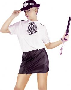 Nylon 6 Piece Police Woman
